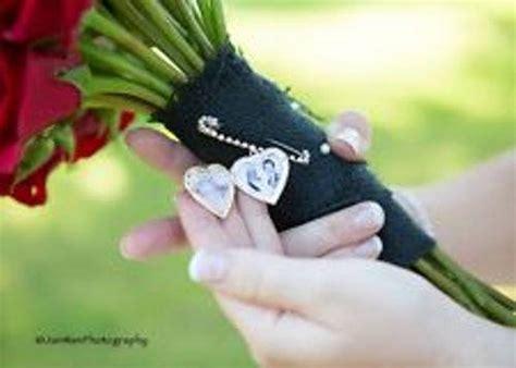 Wedding Bouquet Memory Locket by Wedding Bouquet Memory Photo Locket Pin Boutonniere