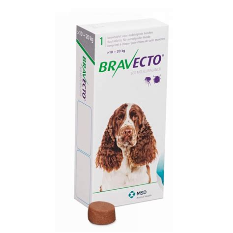flea and tick pill for dogs bravecto 174 m 10 20kg flea and tick pill tataluga