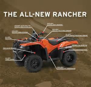 Honda 420 Rancher Accessories 2014 Honda Fourtrax Rancher Es Trx420te1e Powersportsbay
