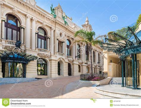 casino of monte carlo monaco editorial photography