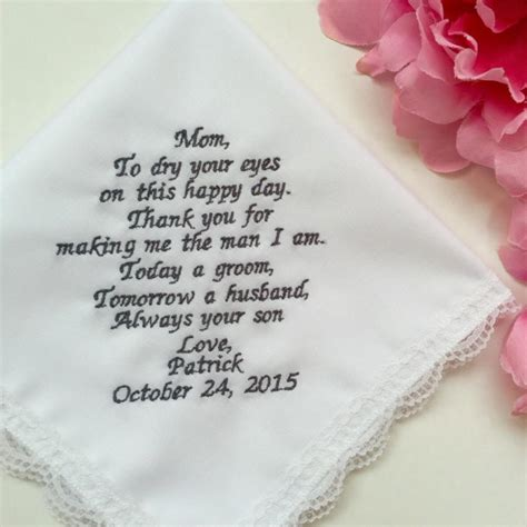Wedding Hankie Box by Wedding Gift From Groom To Groom Personalized