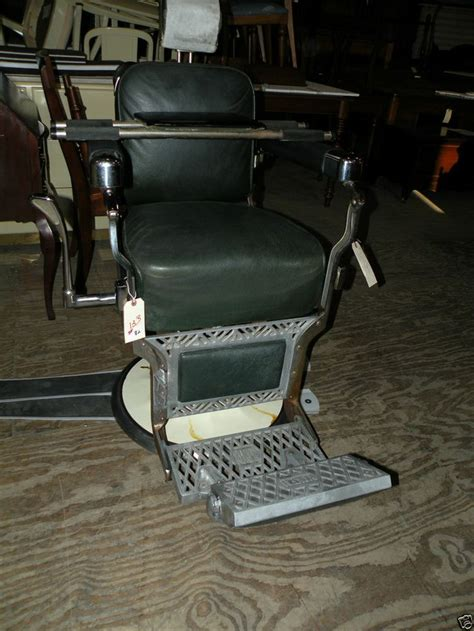 vintage koken barber chair headrest original antique 1940 s koken barber chair with child s