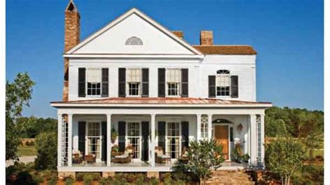 southern traditional house plans traditional neighborhood collection southern living house plans