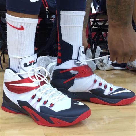demarcus cousins kicks at practice in vegas for usa