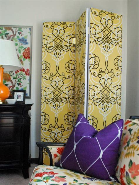 how to make a room divider how to make a multipurpose room divider hgtv