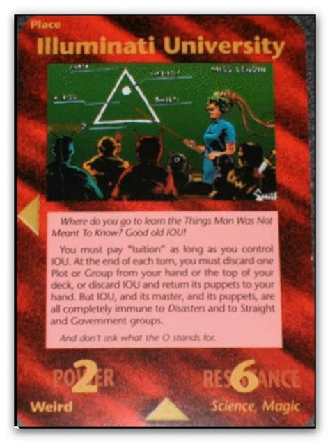 illuminati of conspiracy all cards illuminati cards illuminati by icu8124me on