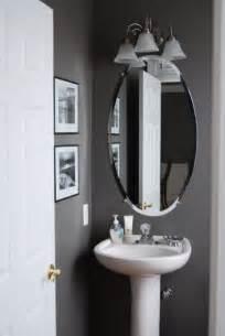 Grey half bathroom decoration idea home pinterest