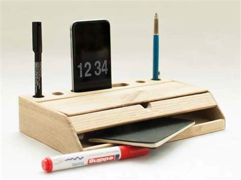 Contemporary Desk Organizers Handmade Modern Nordic Wooden Desk Organizer Free