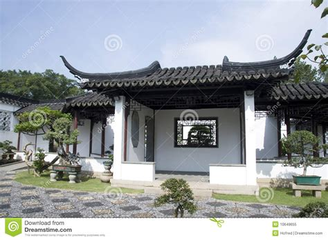 house of style chinese style house stock image image of cultivated 10649655