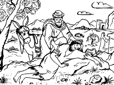 coloring pages for the good samaritan story the holiday site biblical christmas coloring pages
