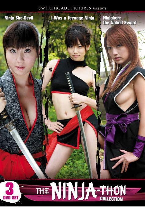 film ninja hot ninja triple feature dvd collection section 23