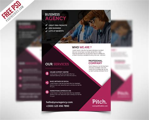 business flyers 21 free pdf psd ai vector eps format
