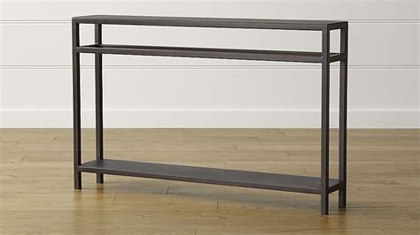 console table echelon console table crate and barrel