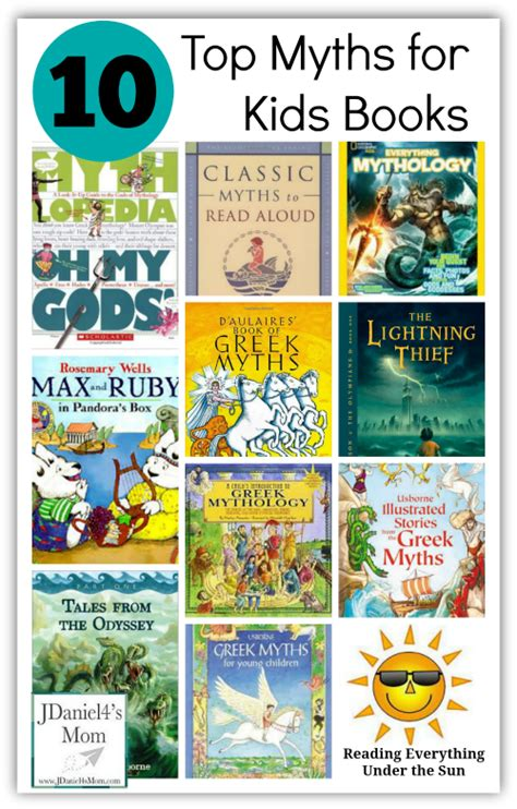 top ten picture books here are my top ten myths for books