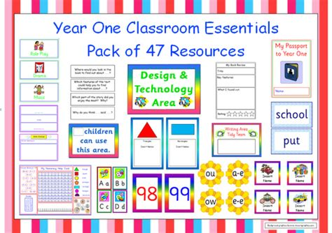 classroom layout year 1 year one starter kit by planitteacher teaching resources