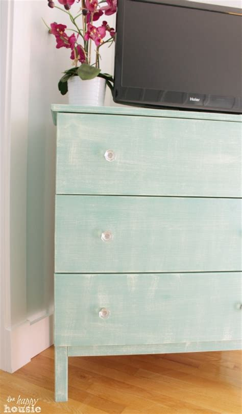 paint ikea dresser ikea hack tarva dresser with faux painted linen texture