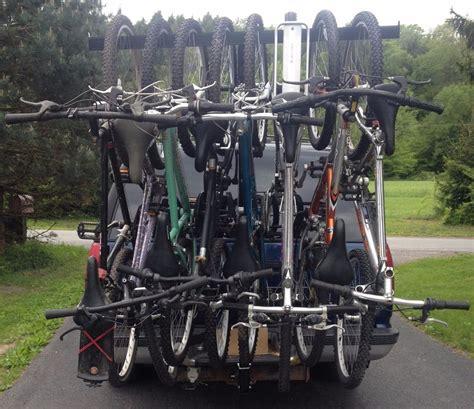 6 Bike Rack by Bike Rack Hitch Mounted 4 5 6 7 8 Bikes Ebay