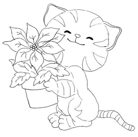 Kittens Coloring Pages kitten coloring pages 3 coloring pages to print