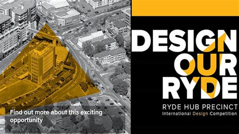 Design Contest From The Ryde by Design Our Ryde Design Ideas Competition Competitions Archi