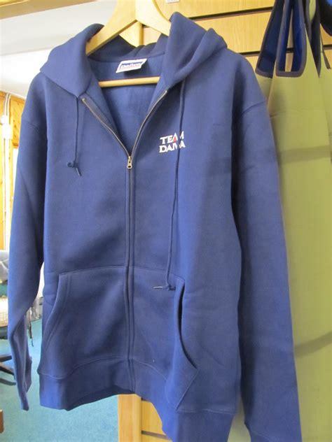 Hoodie Team Daiwa ex display daiwa team daiwa hoodie zip up jacket blue