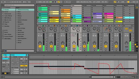 themes for ableton live 9 web app white space and its use in production single