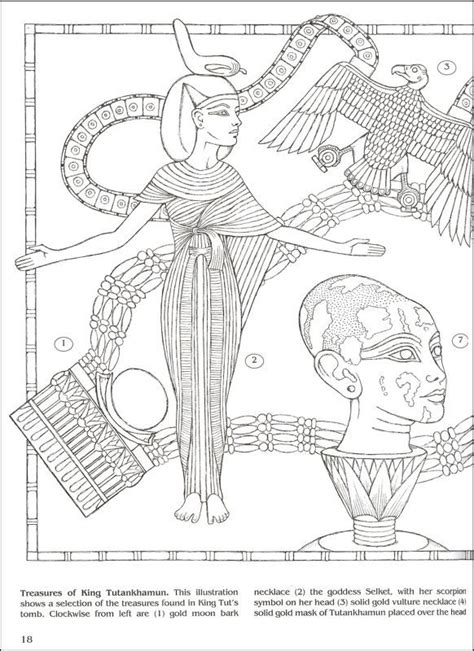 coloring pages king tut 1000 images about coloring pages to print egypt on