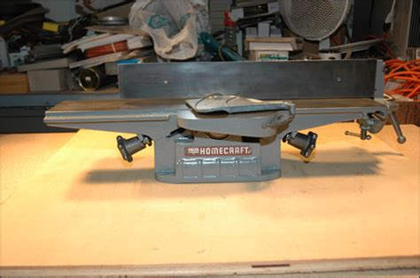 Side Table Height Delta Homecraft Jointer