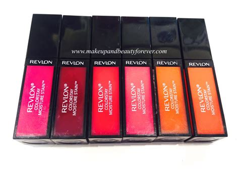 Lipstik Revlon Colorstay Moisture Stain all new revlon colorstay moisture stain review shades swatches price and details makeup and