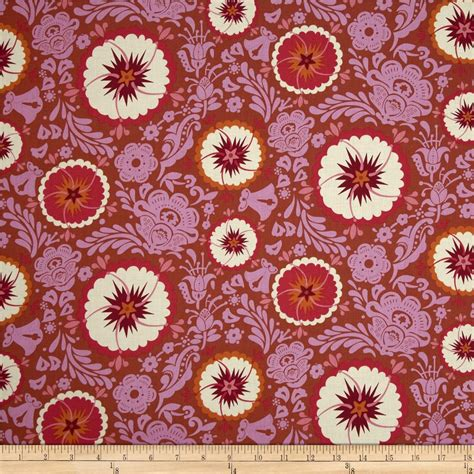 anna maria horner home decor fabric anna maria horner folk song fortune zinnia discount