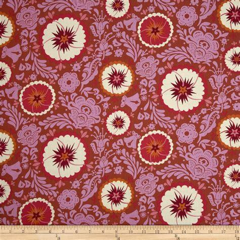 anna maria horner home decor fabric anna maria horner folk song fortune zinnia discount designer fabric fabric com