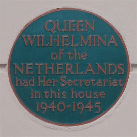 queen wilhelmina london remembers aiming  capture