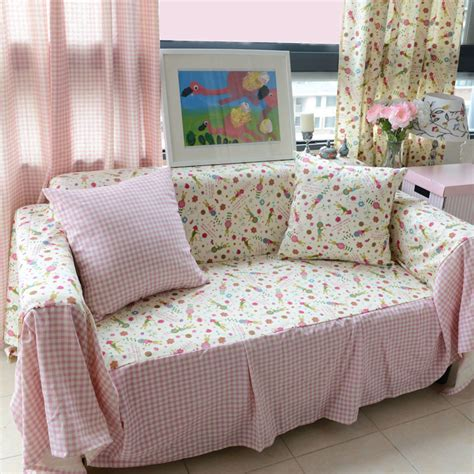 sofas with print fabric floral printed sofa cover pure plush fabric sofa towel