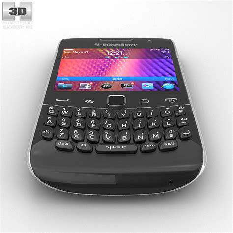 format video blackberry 8520 blackberry curve 9360 3d model hum3d