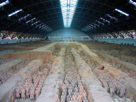 model this the terra cotta warriors of xian marginal