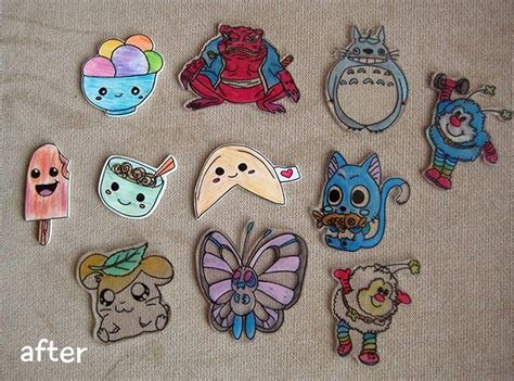 How To Make Shrinky Dink Paper - 17 best images about craft ideas on