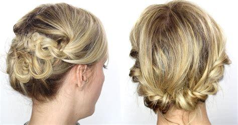 Coiffure Sur Cheveux Mi by Coiffure Cheveux Attache Facile Les Tendances Mode 2018