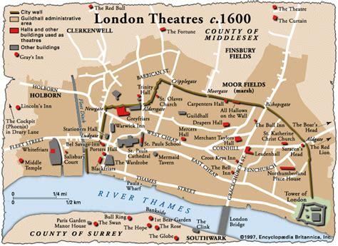 globe theatre maps interesting facts elizabethan theatre