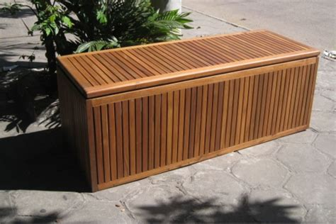 outside storage benches oak storage bench patio cement patio