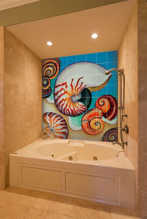 bathroom tile murals bathroom tile murals pacifica tile art studio pacifica