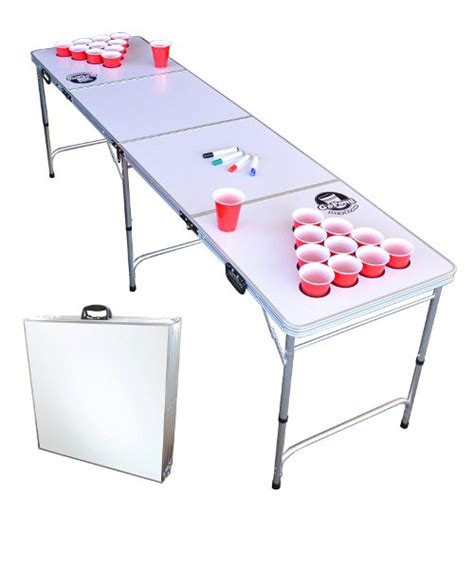 Gopong Dry Erase Beer Pong Table 8 Foot Long Erase Table