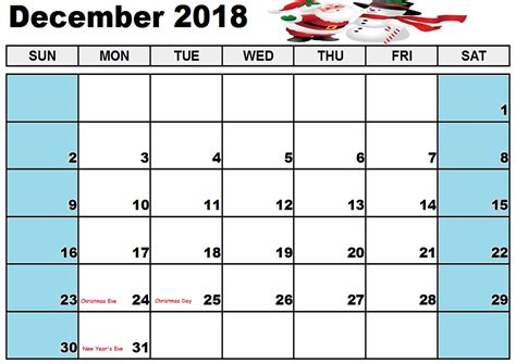 printable calendar 2018 for malaysia december calendar 2018 malaysia free printable template