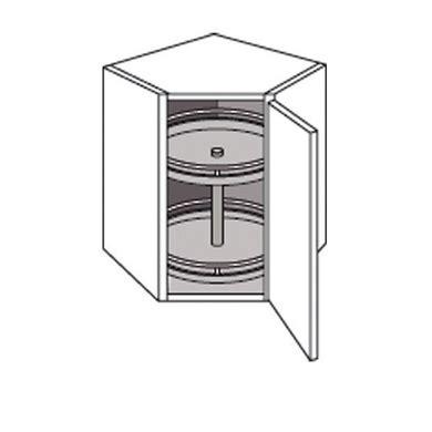 am駭agement meuble d angle cuisine meuble de cuisine haut d angle avec 2 plateaux twist cuisine