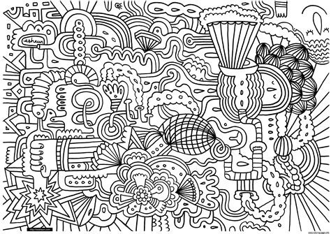 doodle drawings printable doodle doodling 1 coloring pages printable