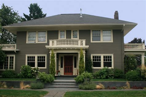 ideal exterior paint colors for ranch style homes house