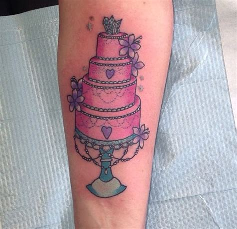 cake tattoos 85 sweet cake tattoos