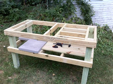 grill table plans free grill table plans plans diy free diy end table