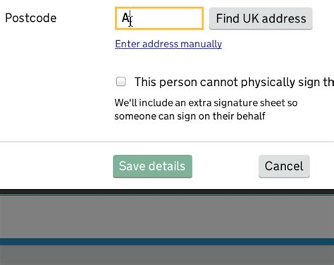Home Address Finder Uk Addresses Service Manual Gov Uk