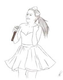 stylish selena gomez coloring pages for kids coloring