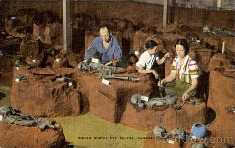 indian pit indian burial pit salina ks