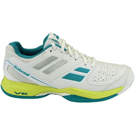 all white tennis shoes babolat womens pulsion all court tennis shoes white blue